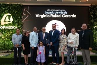 COOPMEDICA realizó un almuerzo en honor al Lic. Virginio Rafael Gerardo
